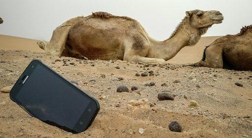wzmocniony smartfon