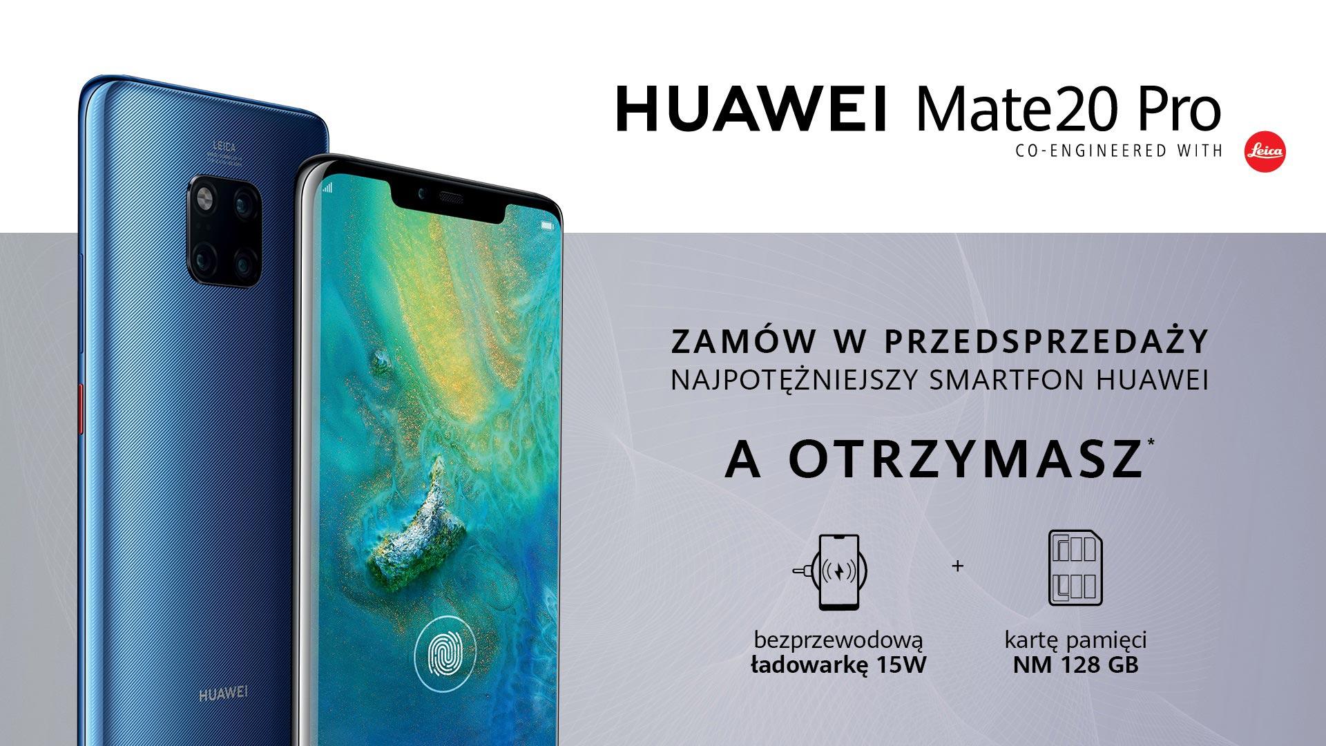 Huawei Mate20 i Mate20 Pro