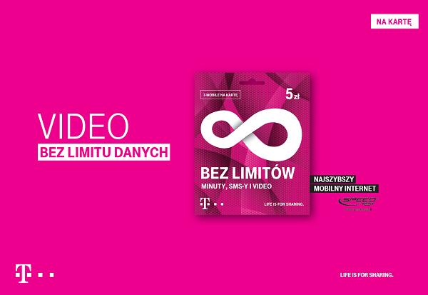 video bez limitu danych