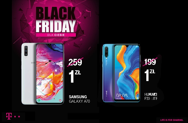 Black Friday w T‑Mobile