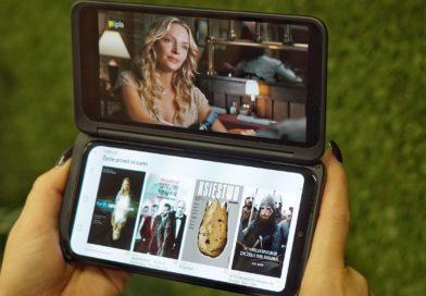 IPLA i Eleven Sports na LG G8X ThinQ Dual Screen.