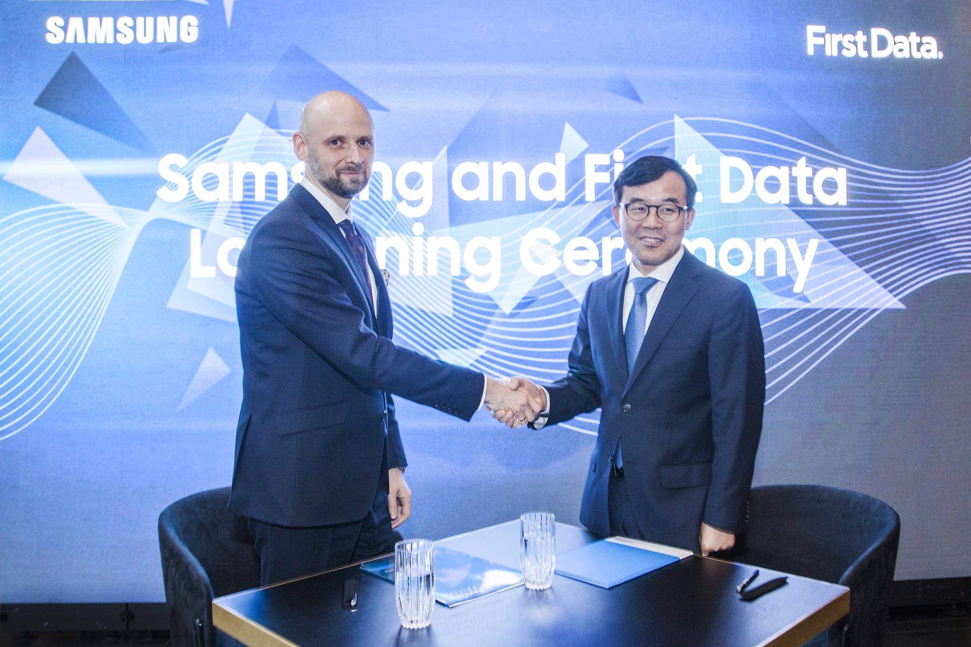 Samsung i First Data