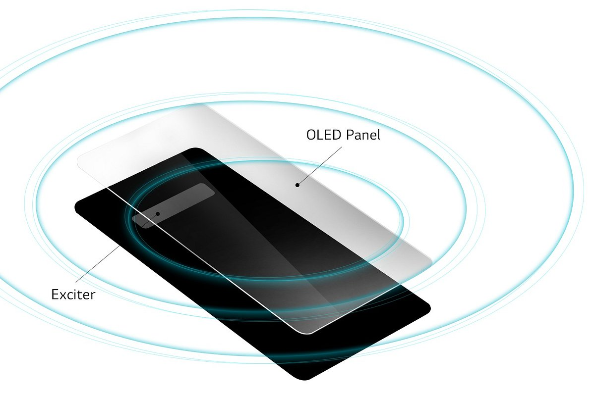 Głośnik LG G8 ThinQ