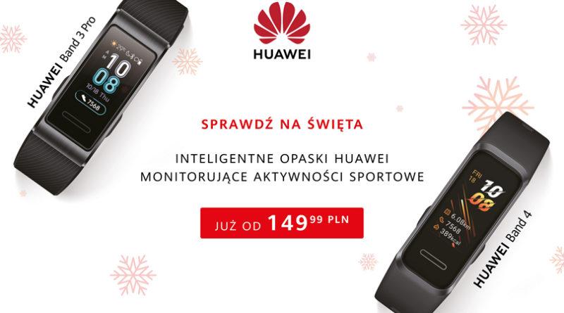 Opaski sportowe Huawei