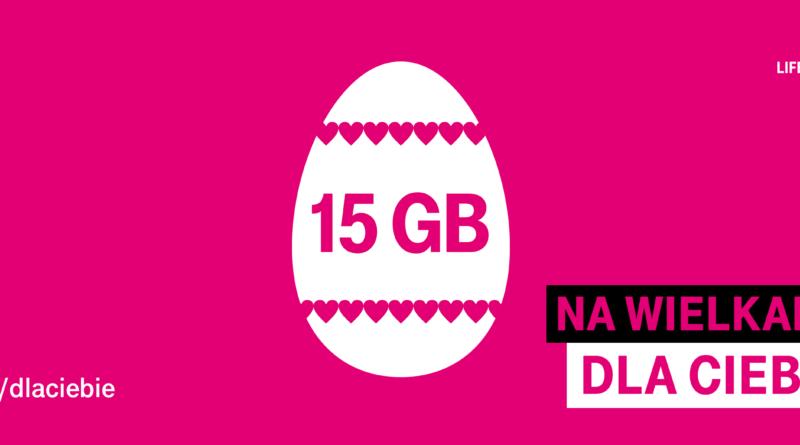 15 GB na Wielkanoc