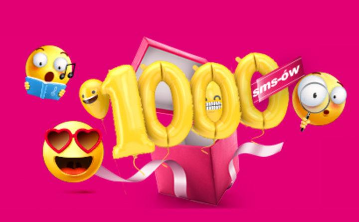 1000 SMS-ów