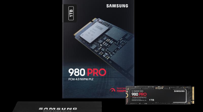 NVMe SSD 980 PRO