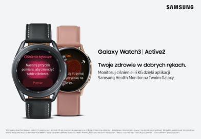 Samsung Health Monitor – dostępna na Samsung Galaxy.