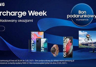 Samsung Supercharge Week – 500 PLN zniżki na zakupy.